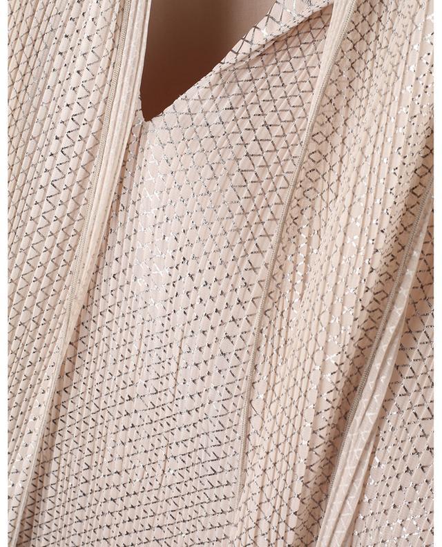 Mini robe trapèze en georgette Sparkling Mesh SEE BY CHLOE