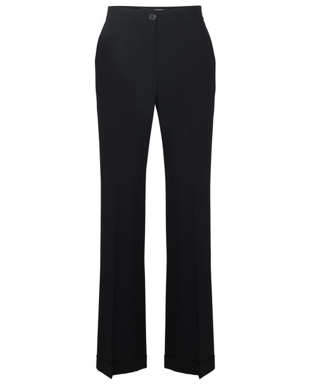 Pantalon taille haute évasée en crêpe City Tailoring SEE BY CHLOE