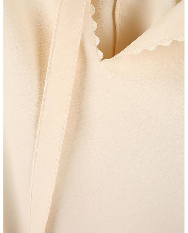 Blouse oversize en crêpe ornée de bords échancrés SEE BY CHLOE