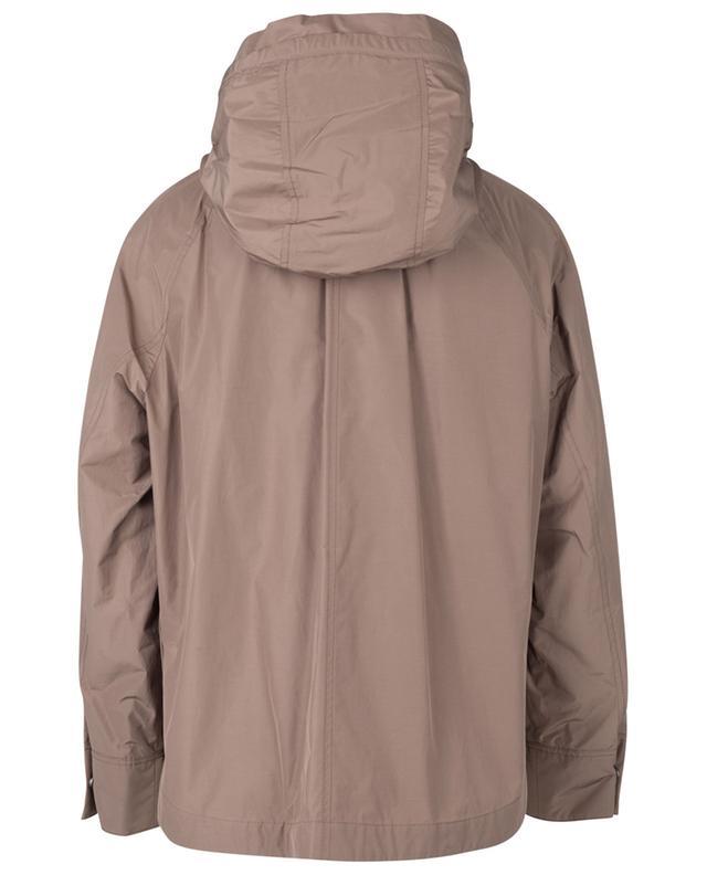 Veste à capuche en coton mélangé BRUNELLO CUCINELLI