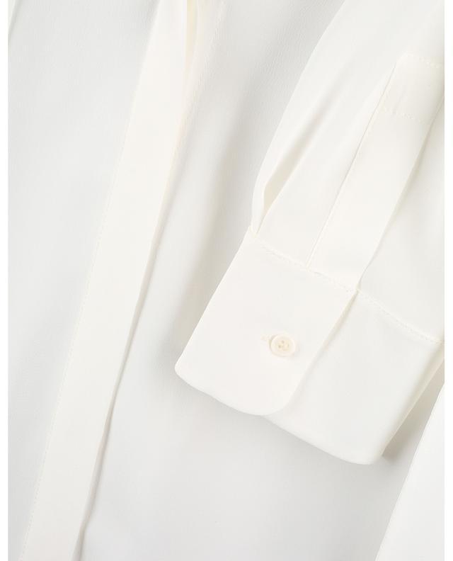 Blouse ample en soie avec lavallière AKRIS PUNTO