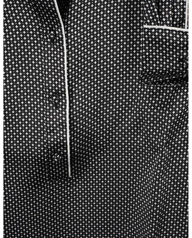 Chemise de nuit en soie imprimée Emma ERES