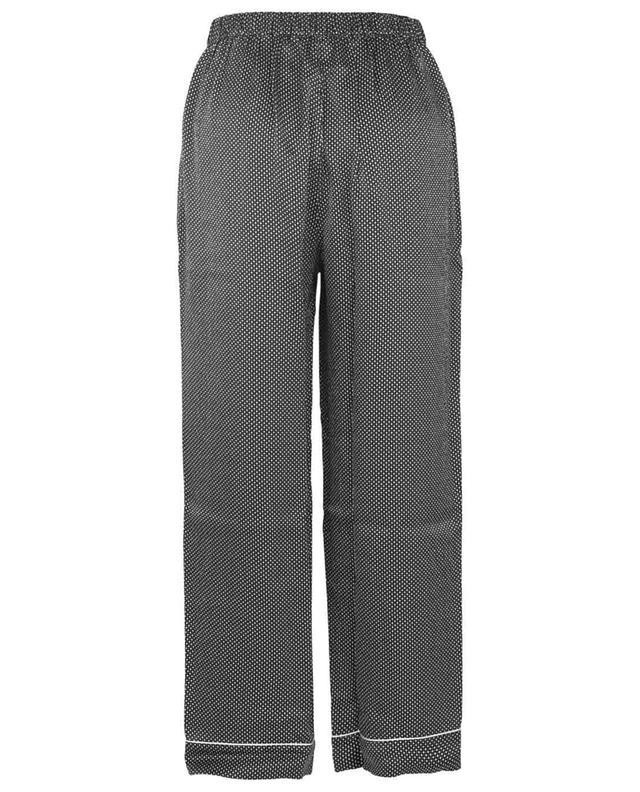 Pantalon de pyjama en soie imprimée Eleanor ERES