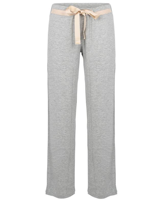 Pantalon large en jersey Softest Pant BLUE LEMON