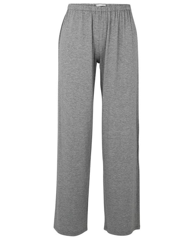 Pantalon de pyjama en coton et modal mélangés chinés Erica SUNDAY IN BED