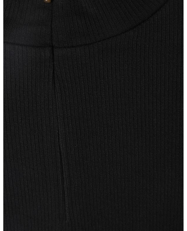 Pull chaussette fin à col montant zippé VINCE