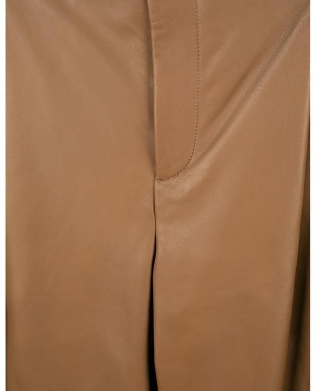 Pantalon fuselé en cuir d'agneau VINCE