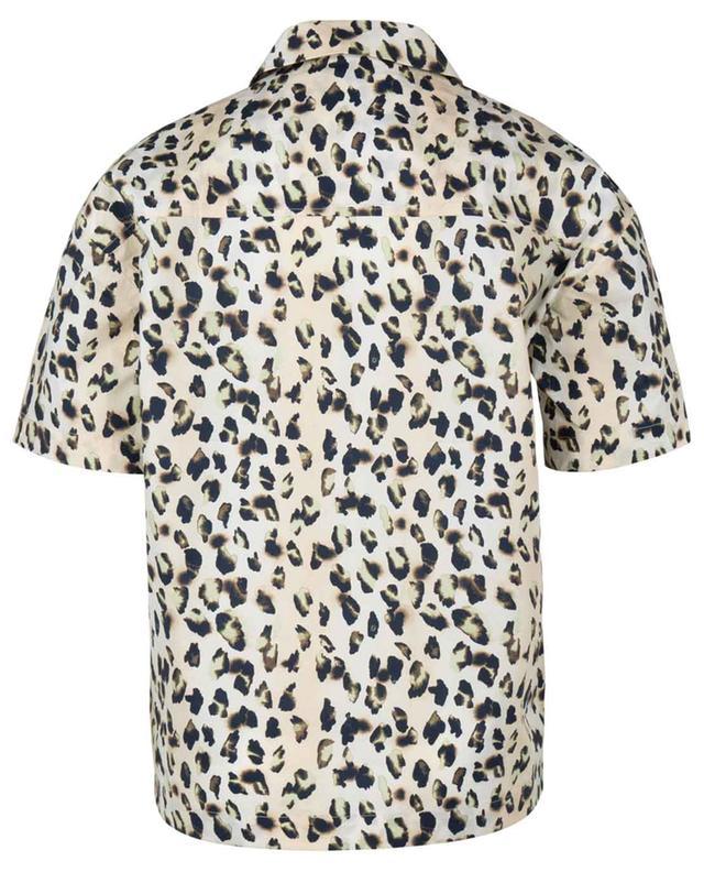 Chemise boxy en coton bio motif léopard Lilian REMAIN BIRGER CHRISTENSEN