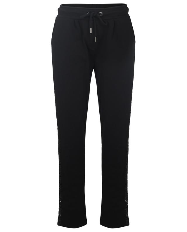 Pantalon de jogging brodé de sequins PRINCESS