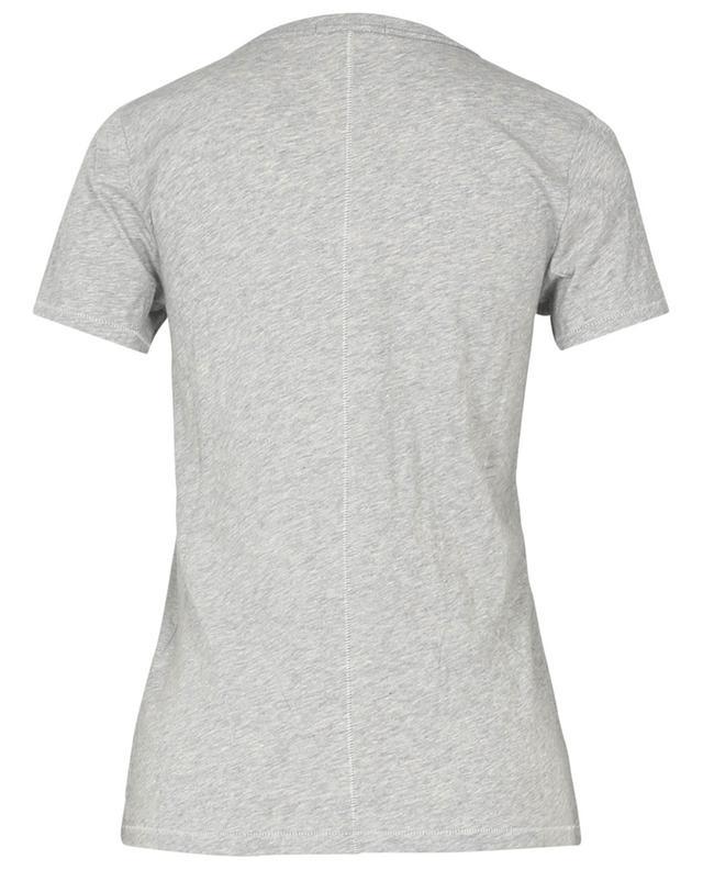 T-shirt en coton flammé The Slub V RAG&BONE JEANS