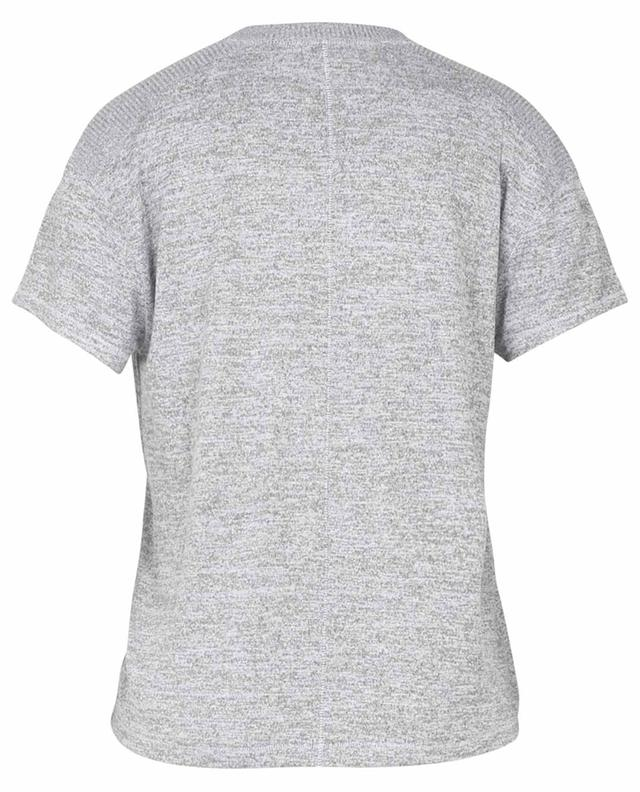 T-shirt en maille chinée Avryl Vneck S/S RAG&BONE JEANS
