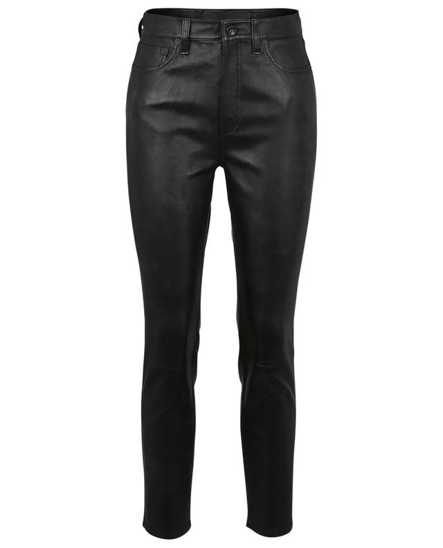 Pantalon en cuir Nina High-Rise Ankle Skinny RAG&BONE JEANS