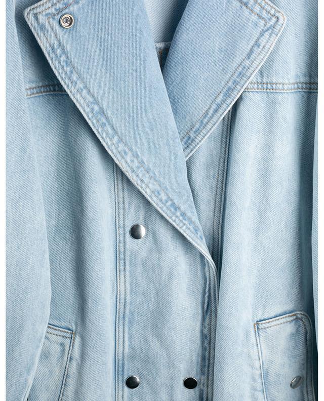 Blouson en jean à double boutonnage Lucindawf ISABEL MARANT