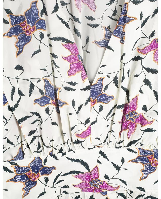 Robe midi ajustée fleurie Omeya ISABEL MARANT