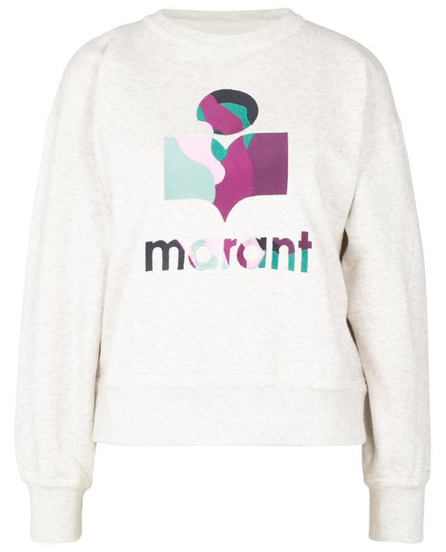 Sweat-shirt en coton mélangé Mobyli ISABEL MARANT