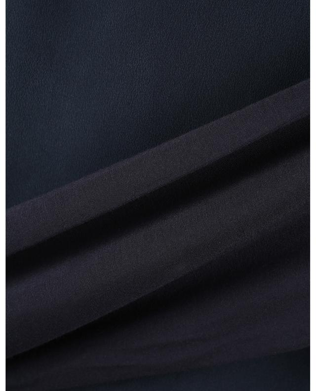 T-shirt à manches longues en jersey et soie Clarino MAX MARA LEISURE