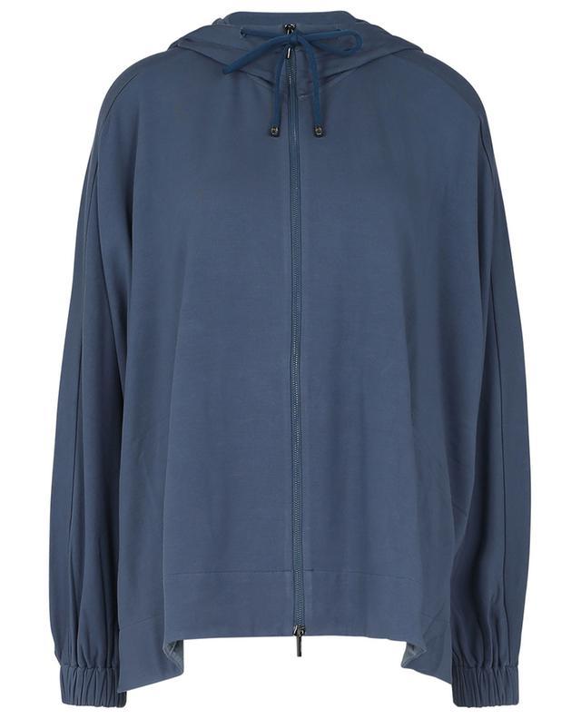 Edwige oversize viscose-blend zip sweatshirt MAX MARA LEISURE