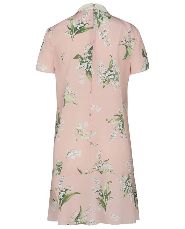 Mini robe en soie fleurie May Lily RED VALENTINO