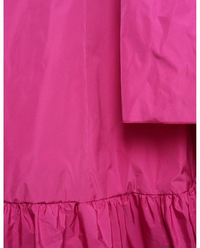 Robe courte à volants et noeud RED VALENTINO