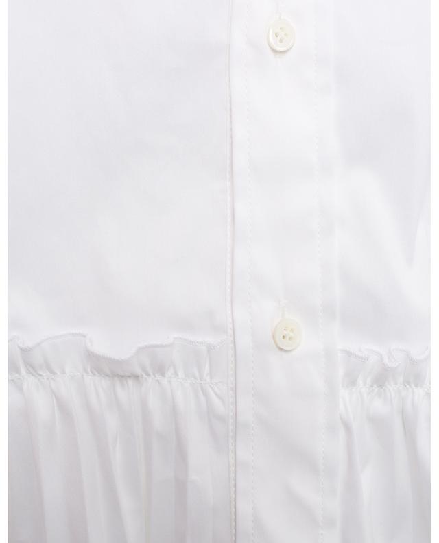 Hemdkleid mit plissiertem Rockteil RED VALENTINO
