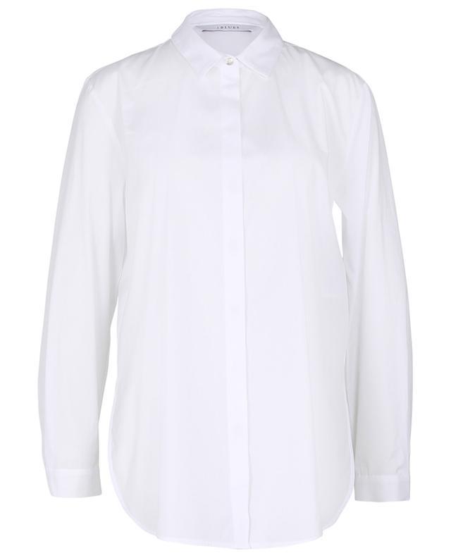 Longue chemise en popeline avec ceinture Knut IBLUES
