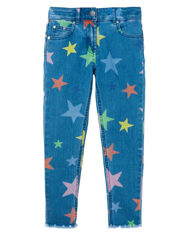 Jean skinny fille imprimé Multicolor Stars STELLA MCCARTNEY KIDS