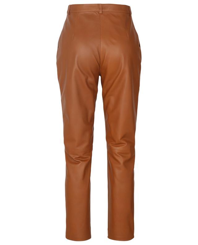 Pantalon à pinces en cuir Procida ETRO