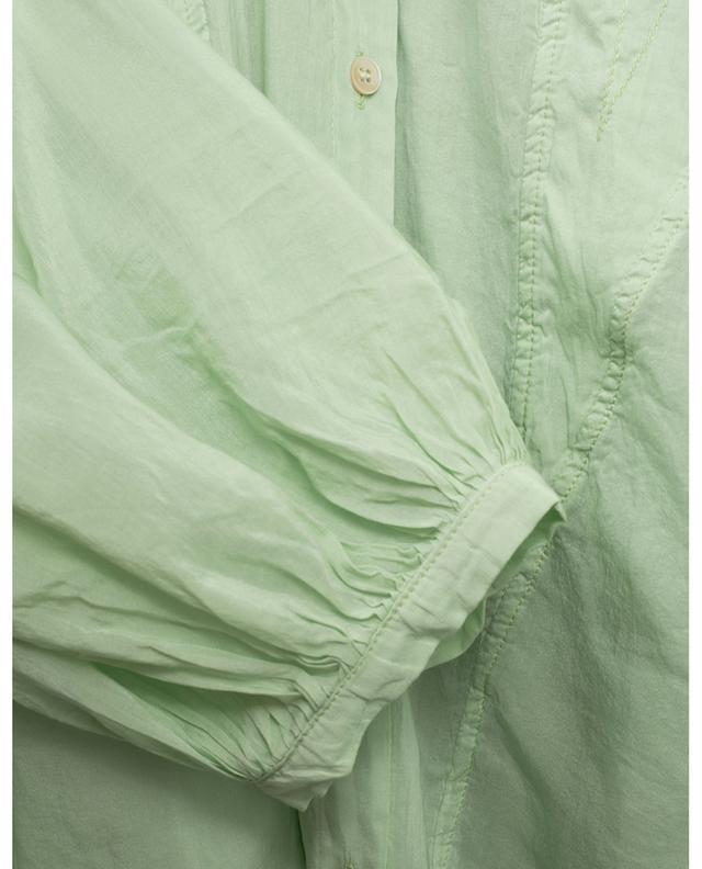 Chemise oversize bohème en voile de coton et de soie FORTE FORTE