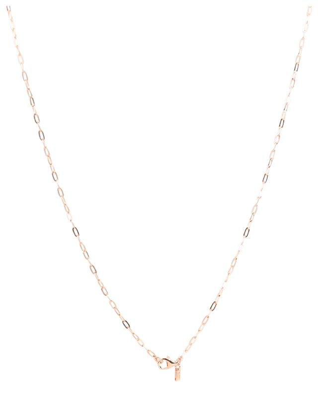 Collier Sunrise rose avec zircons AVINAS
