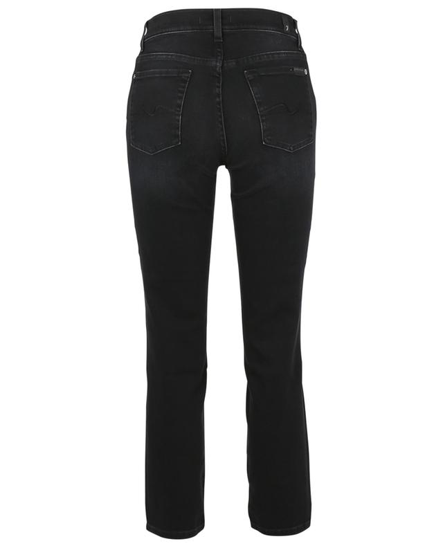 Jean droit raccourci The Straight Crop Soho Black 7 FOR ALL MANKIND