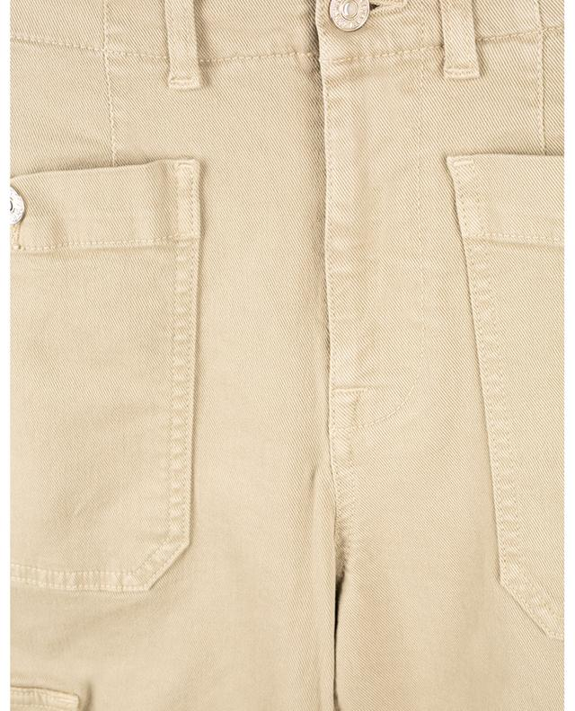 Pantalon en sergé Straight Cargo 7 FOR ALL MANKIND