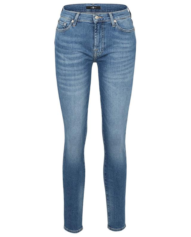 Jean embelli de cristaux The Skinny Slim Illusion Reality 7 FOR ALL MANKIND