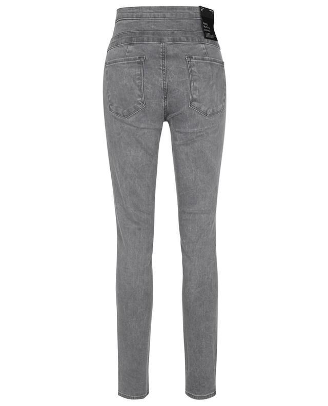 Jean taille haute gris Annalie High Rise Skinny Allure J BRAND