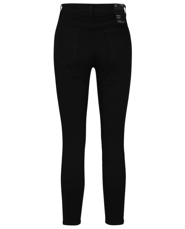 Jean skinny raccourci noir Alana High Rise Crop Vanity J BRAND