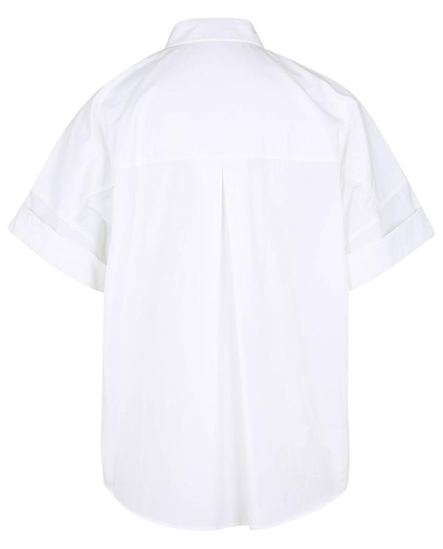 Chemise à manches courtes en popeline WINDSOR