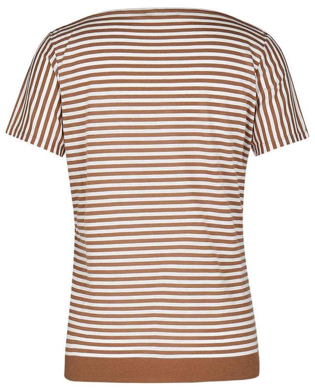 T-shirt rayé à col bateau WINDSOR