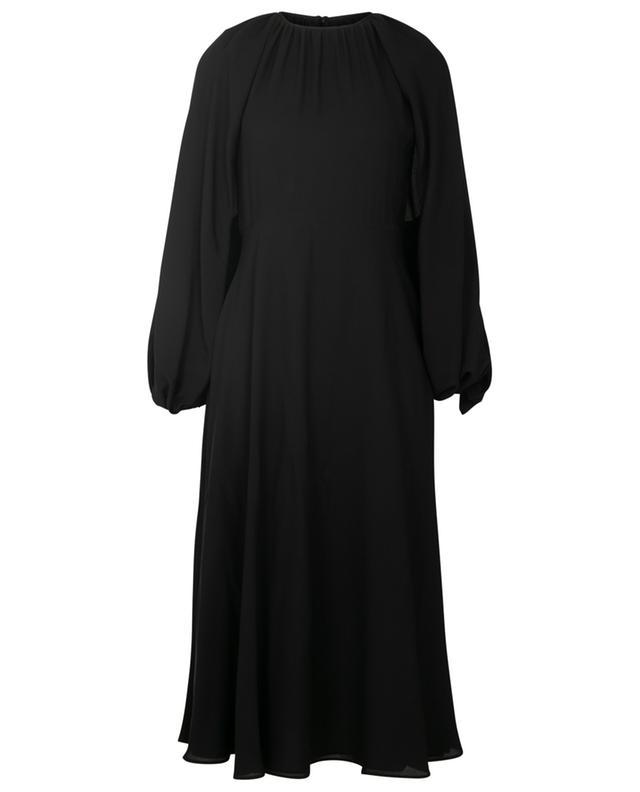 Robe longue en soie VALENTINO