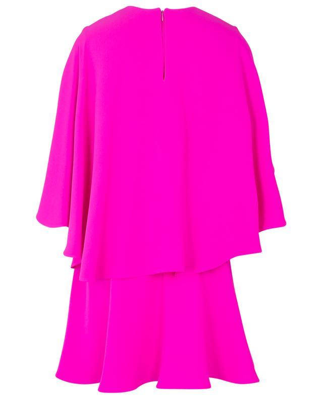 Robe courte en soie VALENTINO