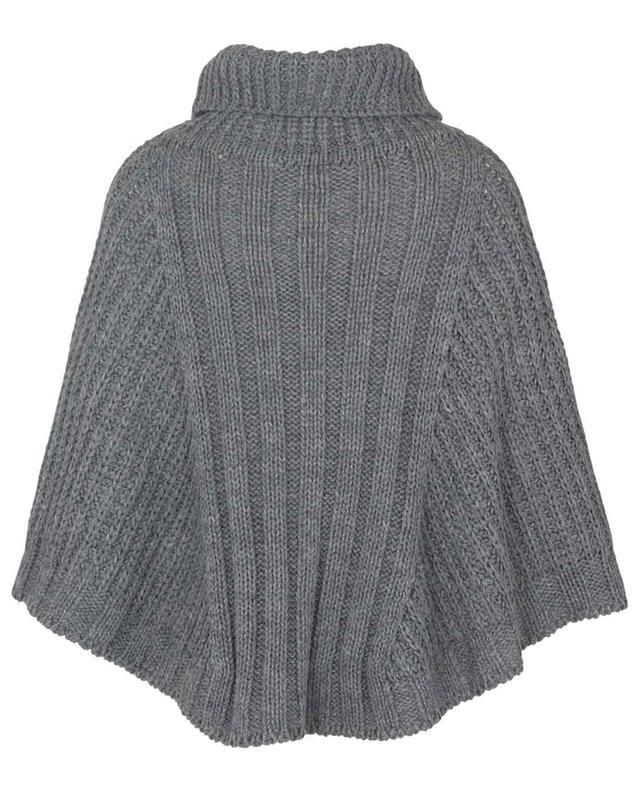 Cape épaisse en laine mélangée à col roulé Ancora GAYNOR