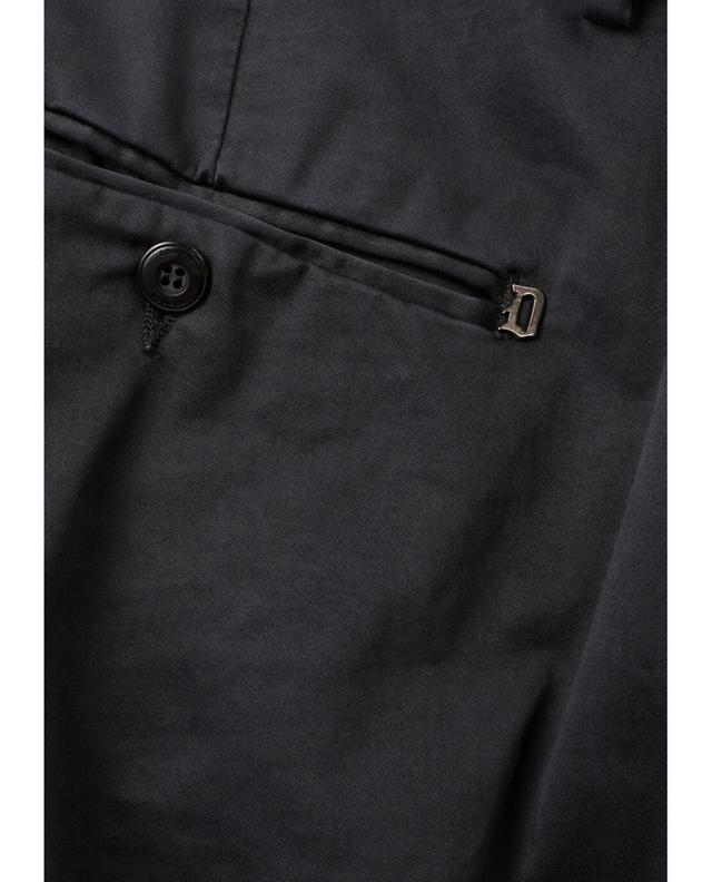 Dondup gaubert cotton blend chino trousers navyblue a19533