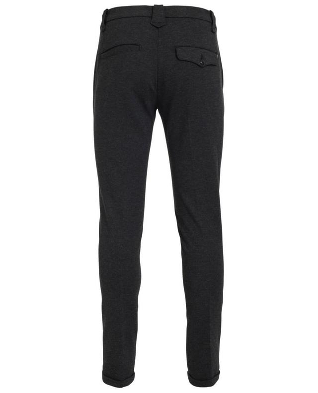 Dondup gaucho slim fit trousers grey a19534