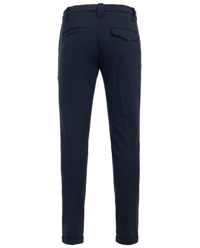 Dondup gaucho slim fit trousers navyblue a19534