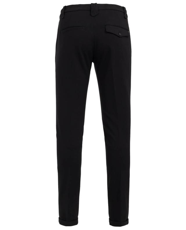 Dondup gaucho slim fit trousers black a19534