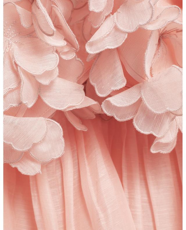 Robe midi à applications fleuries The Lovestruck Garland ZIMMERMANN