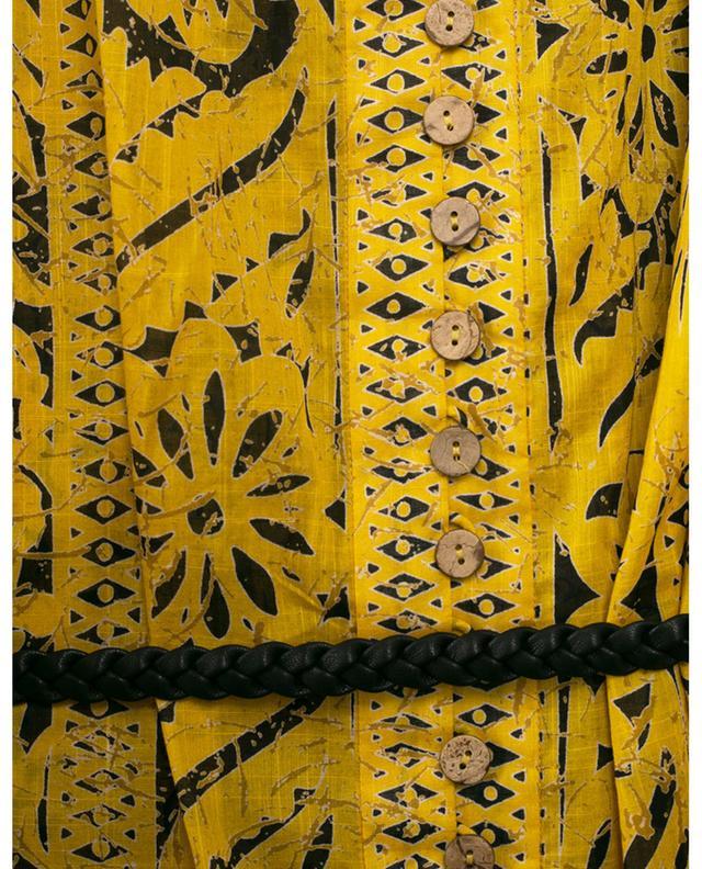 Robe courte à panneaux en coton Lulu ZIMMERMANN