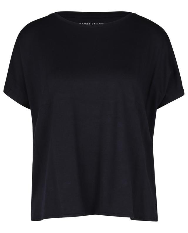 """T-shirt manches courtes chauve souris Superwashed """"Soft Touch"""" MAJESTIC FILATURES"""
