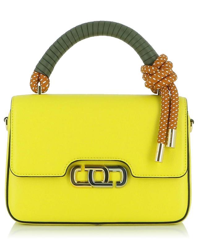 The J Link textured leather handbag MARC JACOBS