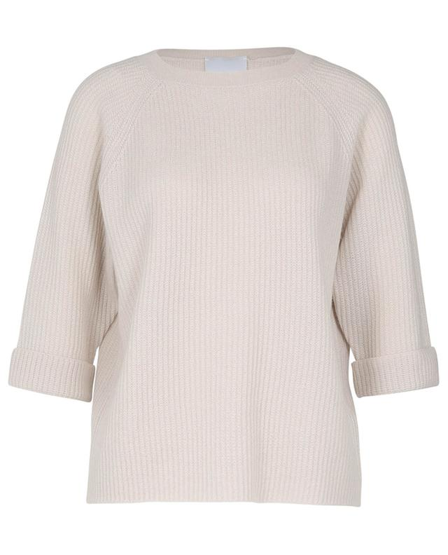 Pull col rond en cachemire tricot ALLUDE