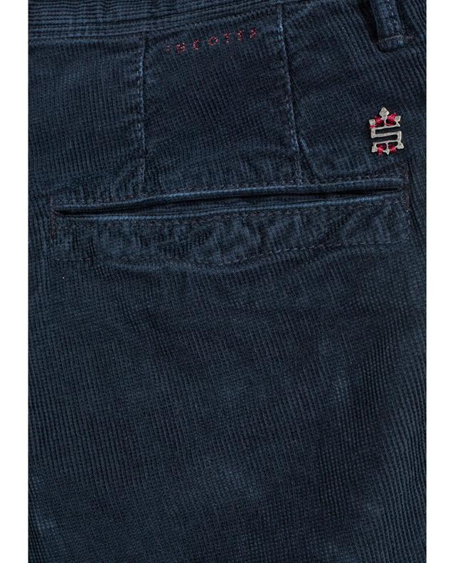 Ribbed velvet pants INCOTEX