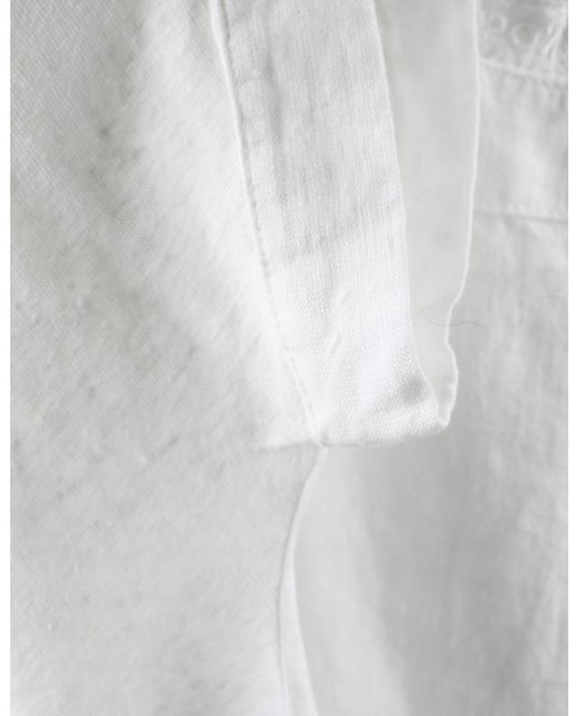 T-shirt en lin à col bateau 120% LINO
